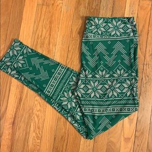 Lularoe TC Holiday Leggings